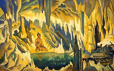 El buda meditando