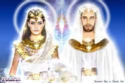 Diosa Isis y Maestro Serapis Bey