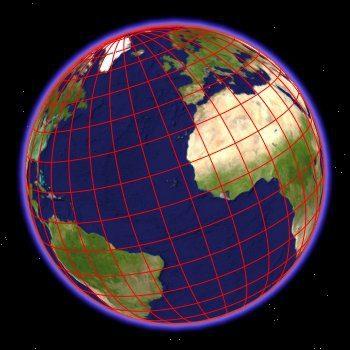 EARTH-10 Deg Grid