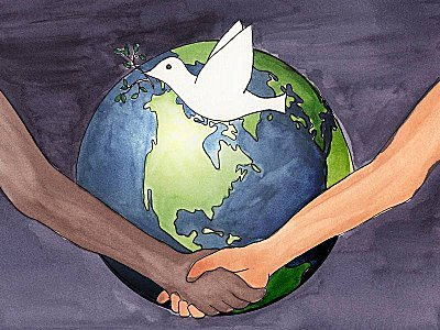 tierra gaia paz unidad