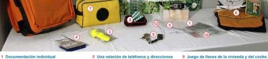 Gallardón propone a los madrileños que preparen su mochila de emergencias