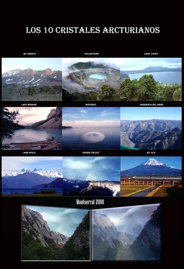 10 cristales etereos Arcturianos en la Tierra
