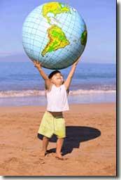 Niño Sujeta Mundo