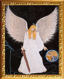 Pintura Archangel Michael