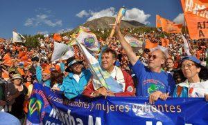 marcha mundial por la paz y la noviolencia del 2 de octubre 2009 al 2 de enero 2010