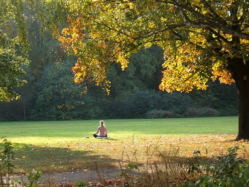 meditacion en la naturaleza
