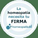 La homeopatia necesita tu firma