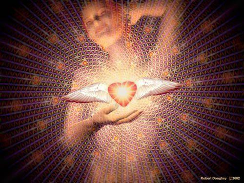 Flor de la vida corazon