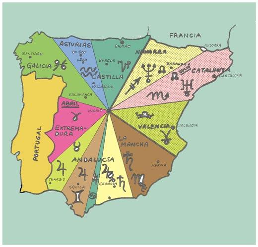 Identidades Nacionales - zodiaco españa