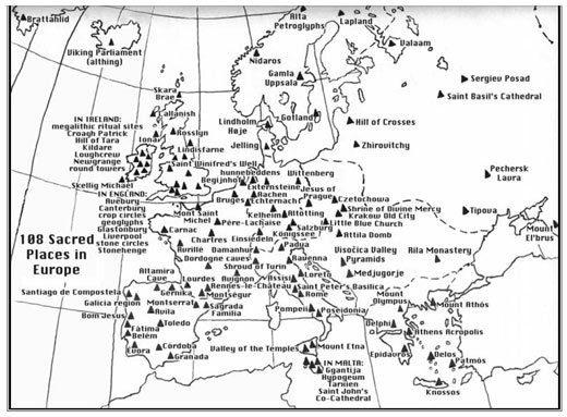 Sacred Places Europe - Lugares Sagrados Europa