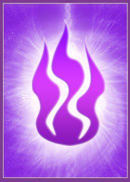 llamavioleta rayo violeta