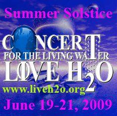 Concierto para el agua 19-20-21 junio 2009