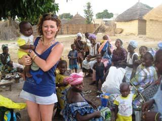 Campamentos solidarios en África