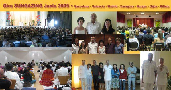 Gira SunGazing España Junio 2009