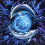 Delfines-rodeando-a-la-Tierra