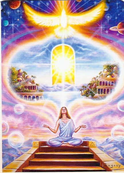 Vuelo durante la meditacion sin limitaciones