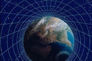 Earth With Grid
