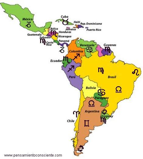 Identidades Nacionales - zodiaco america del sur
