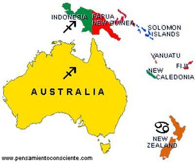 Identidades Nacionales - zodiaco australia