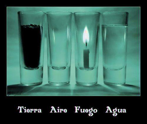 4 Elementos Los Elementos en la Antiguedad, Noviembre d.c.