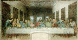 Leonardo Da Vinci (1452-1519 ) The Last Supper (1495-1498 )