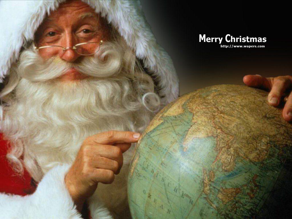 papa noel merry christmas