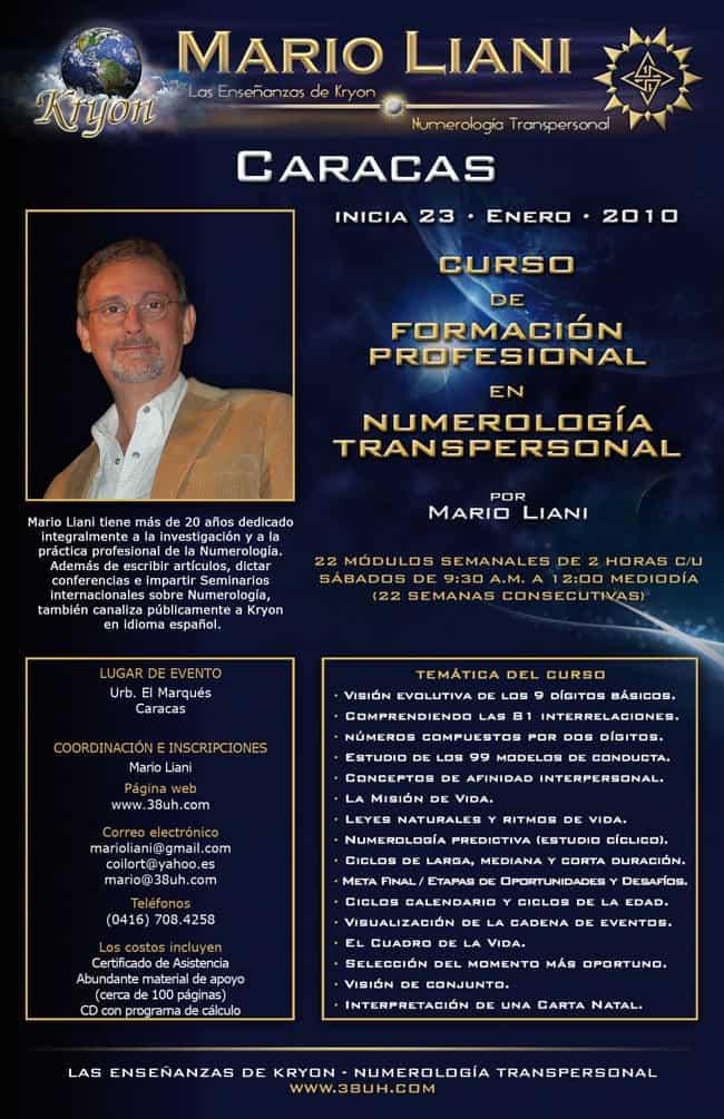 Curso Caracas Sab 23- Enero 2010