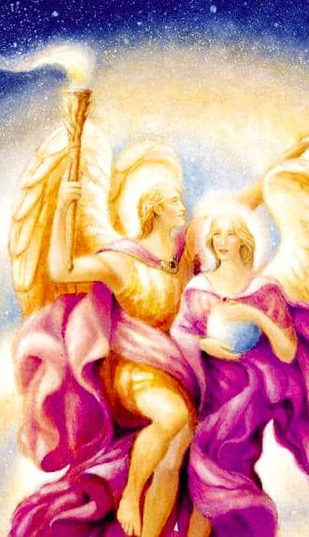 Arcangeles Zadquiel y Amatista