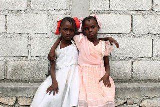 Niñas de Haiti