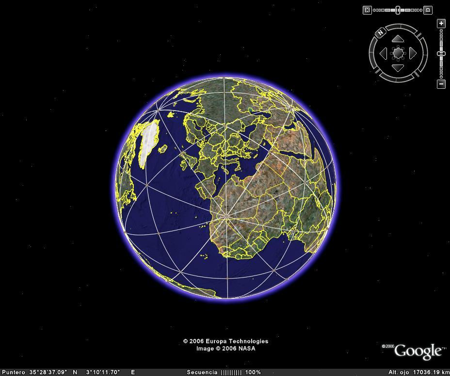 REC3 - Rejilla Cristica de la Tierra - imagen gaia lejos