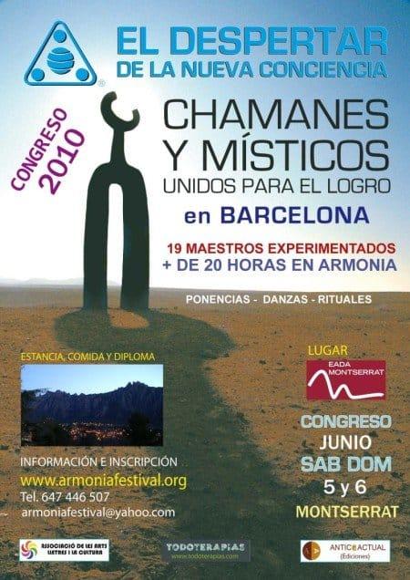 Congreso de Chamanes Congreso de Chamanes. Fecha 5 y 6 de Junio en Montserrat