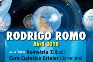 Cura Cuántica Estelar – BARCELONA – 9-10-11 Abril 2010 – BILBAO – 14-15 Abril 2010     Rometría – BILBAO – 17-18 Abril 2010