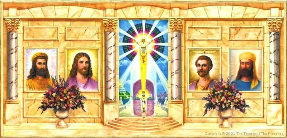 saint germain - koot thumi - jesus - morya