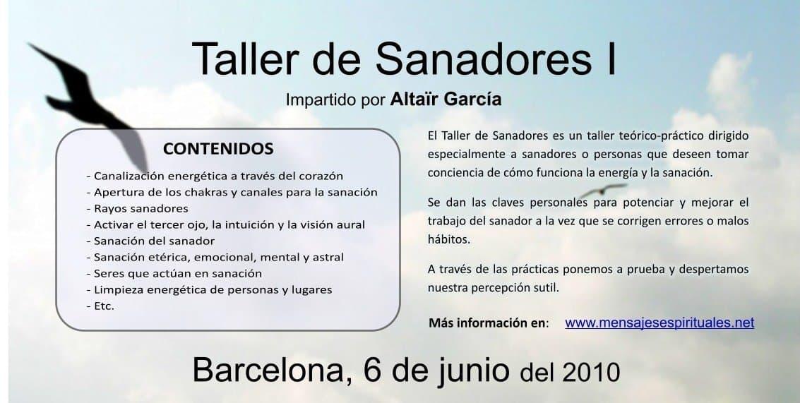 taller de sanadores barcelona