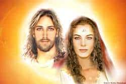 Maestro Jesus y Maria Magdalena