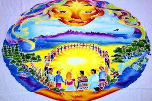 Circulo de Sonido  Ceremonia de Armonizacion Mundial  El Boalo  Madrid   – 19 de Septiembre