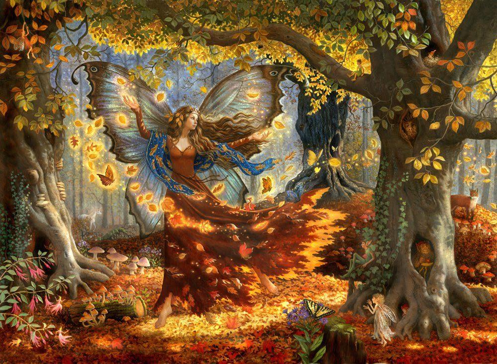 FallFairy by Ruth Sanderson