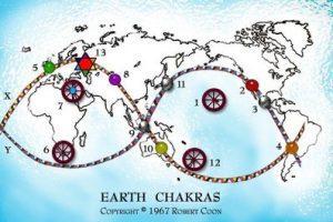 Fuentes energeticas de la TIERRA – Chakras – GAIA, por Robert Coon