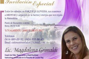 Actividad Gratuita: Meditando para relajarte. Todos los sábados en el Parque La Llovizna, en Puerto Ordaz – Estado Bolívar – Venezuela