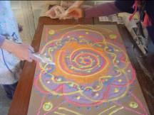 Circular 45 Mandala 5