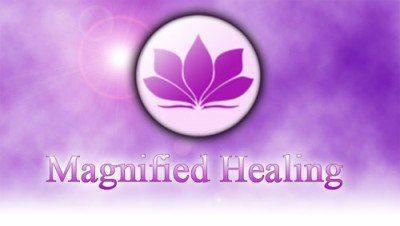 Magnified Healing Logo Iniciación y Maestría en Magnified Healing(R) en San Martin de Los Andes