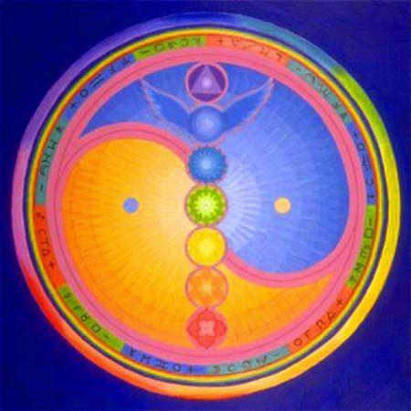 Chakras y el ying-yang