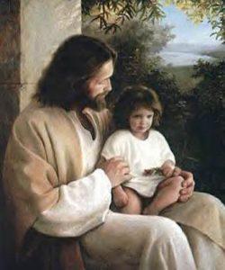 El-Maestro-Jesus-con-un-ni-o