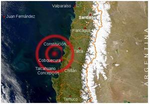 Imagen terremoto