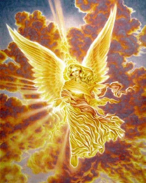 Mi angel de Luz dorada