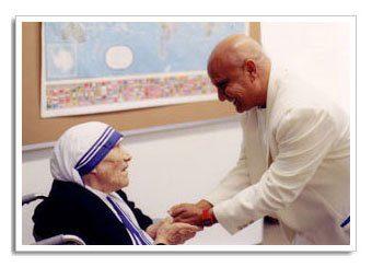 Sri Chinmoy Mother Teresa