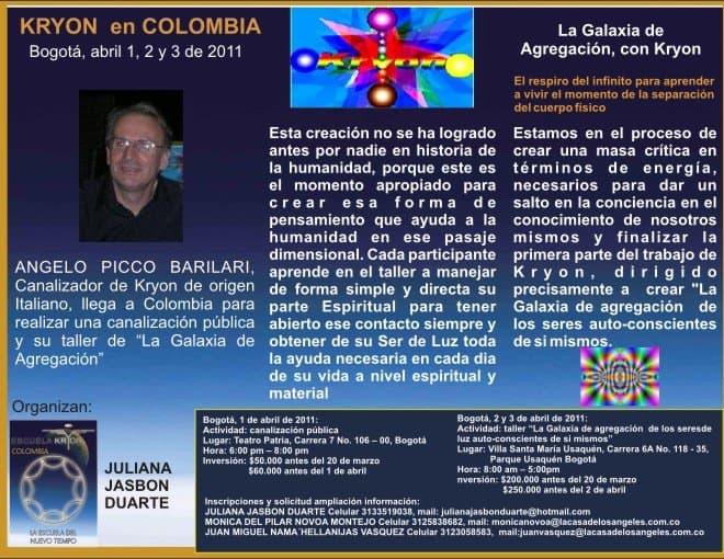 Kryon en Colombia