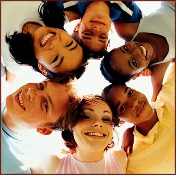 Gente de todas las razas