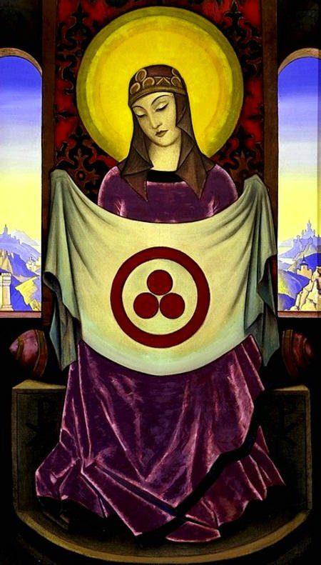 ROERICH - Madonna con la bandera de la paz