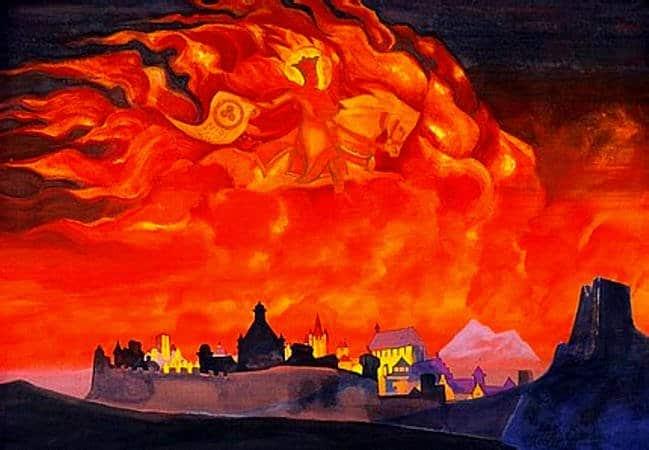 ROERICH - Mensajero del fuego